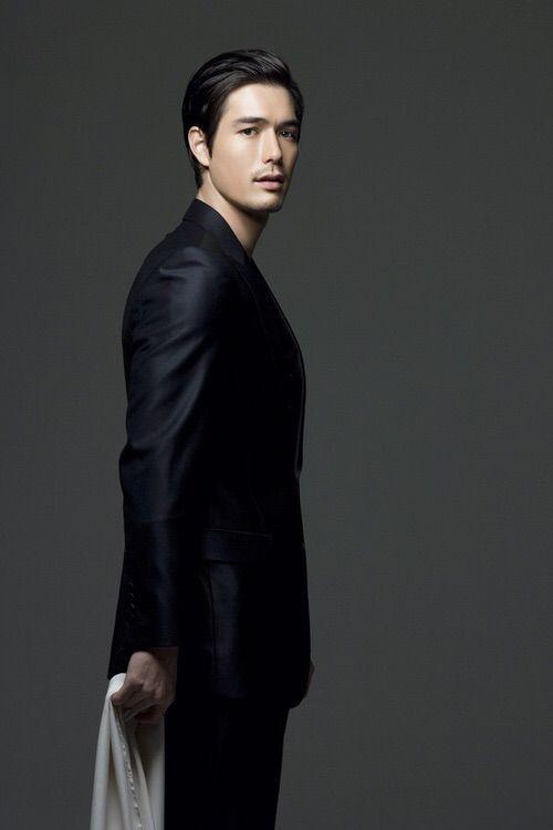 Image via We Heart It https://weheartit.com/entry/67820440/via/381413 #actor #american #black #Hot #korean #masculine #suit #rickykim