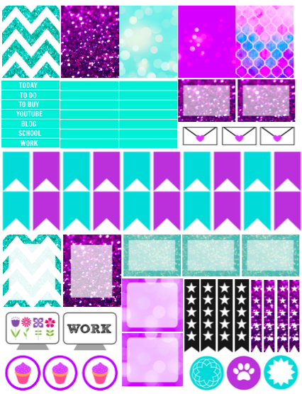 FREE April Planner Stickers / FREE PRINTABLE