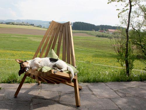 thermoholz klappstuhl f r drau en diy projekte pinterest outdoor garden und chair. Black Bedroom Furniture Sets. Home Design Ideas