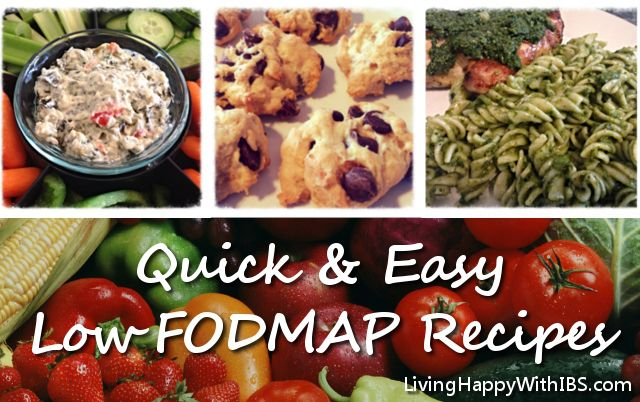 Quick & Easy Low FODMAP Recipes