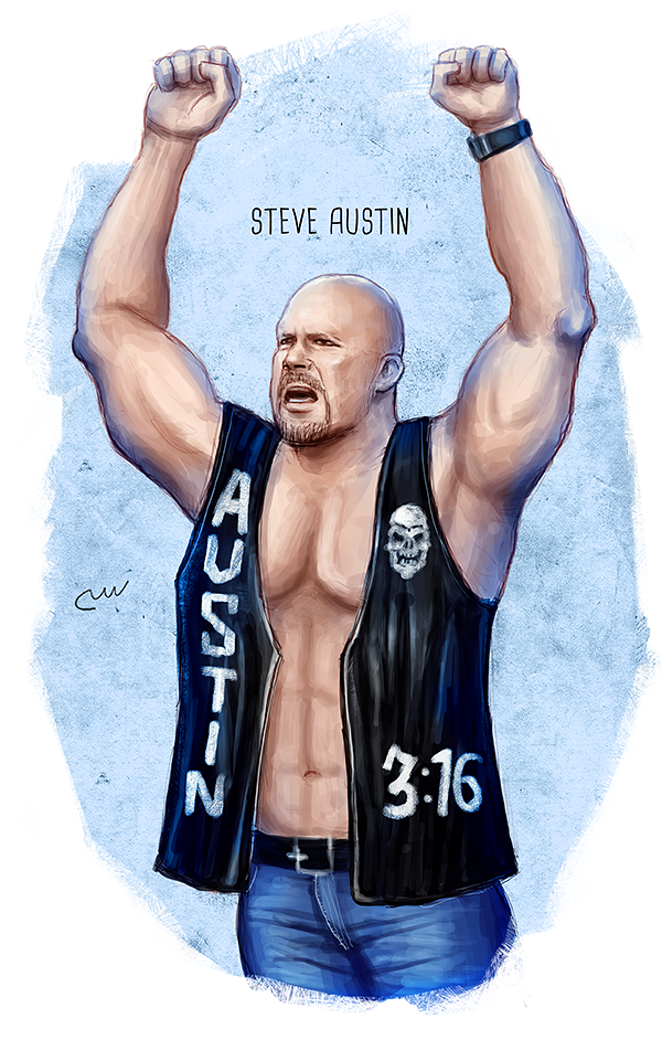 Wwe Stone Cold Steve Austin By Baguettepang Steve Austin Stone Cold Steve Austin