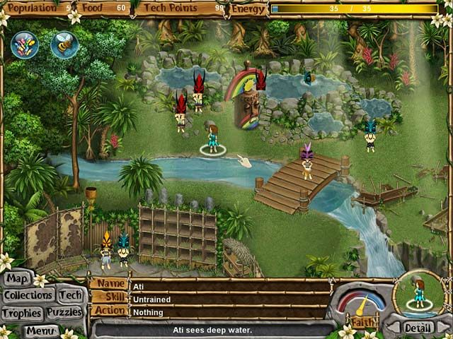 Best Big Fish Games 2019 Screenshot of Virtual Villagers: New Believers from Big Fish Games