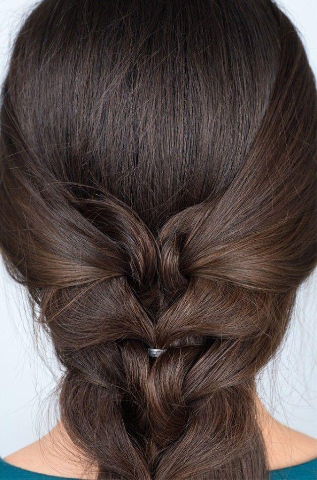 Como hacer trenzas modernas y de cola de pescado invertida Hair