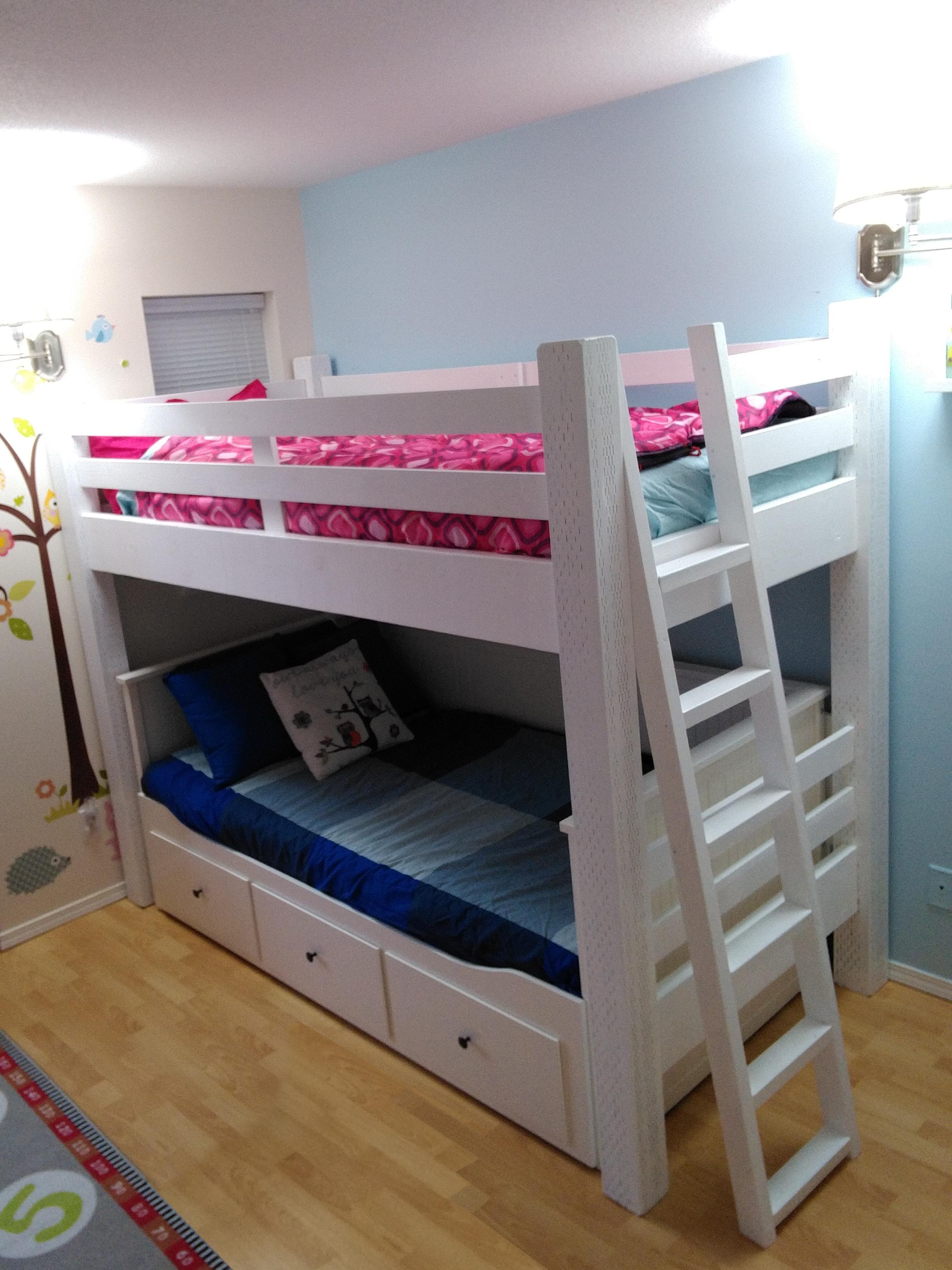 Best Loft Beds With Desk Designs (mit Bildern) Bett