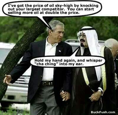 Image result for bush saudi hand hold ka ching