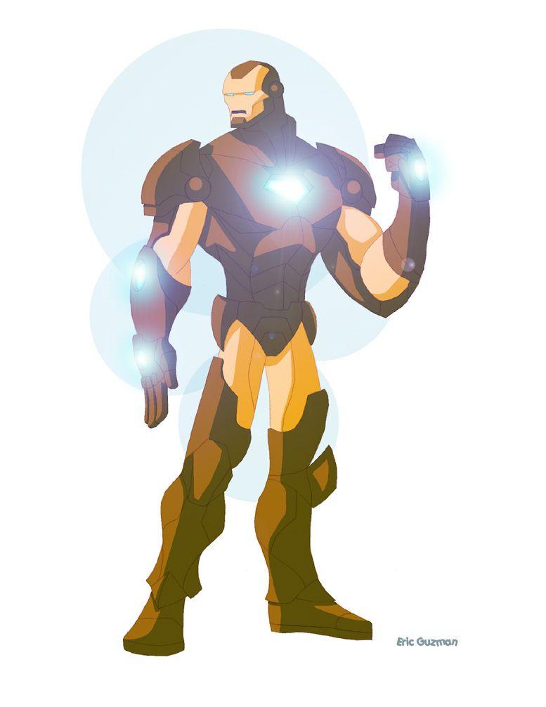 Iron Man Update by *EricGuzman on deviantART