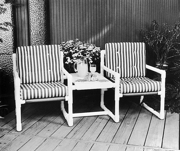 This Sturdy And Attractive Twin Seater Comes Together In No Time With Some  PVC And