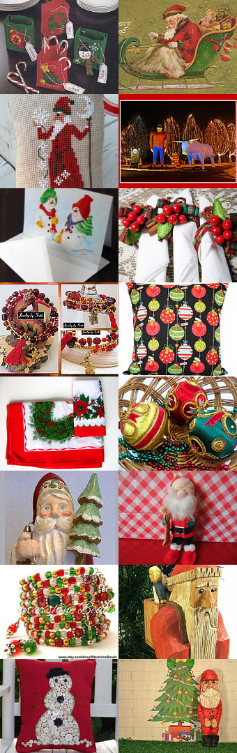 Christmas Shopping by Robin Hawthorne on Etsy--Pinned with TreasuryPin.com