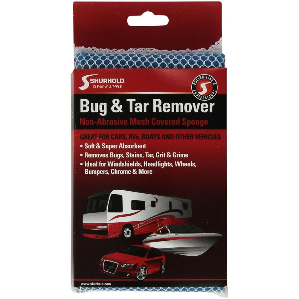 Shurhold Bug And Tar Remover Sponge Car Wash Soap Removing Bugs