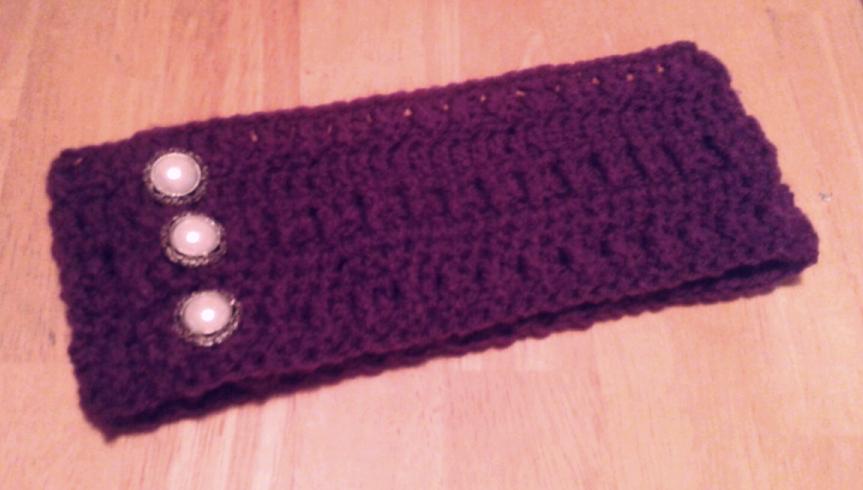 FREE crochet earwarmer headband pattern great for beginners ...