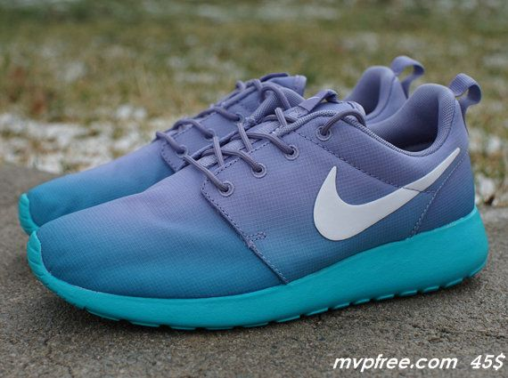 Nike WMNS Roche Run-Iron Purple-White-Turbo Green Arif Laksono Muttaqin nih  guh biar seimbang