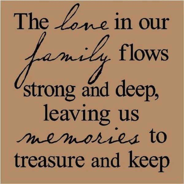 54 Short And Inspirational Family Quotes With Images Chalkboard