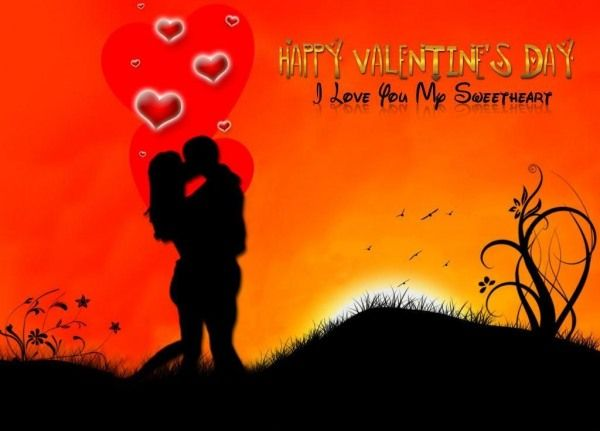 Happy Valentines Day My Sweetheart Happy Valentines Day