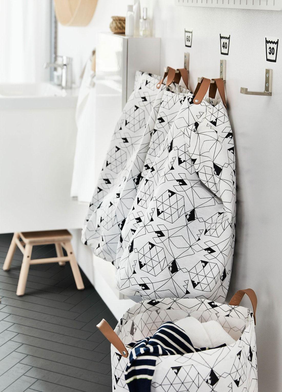 Mehr Platz für Wäsche im Badezimmer