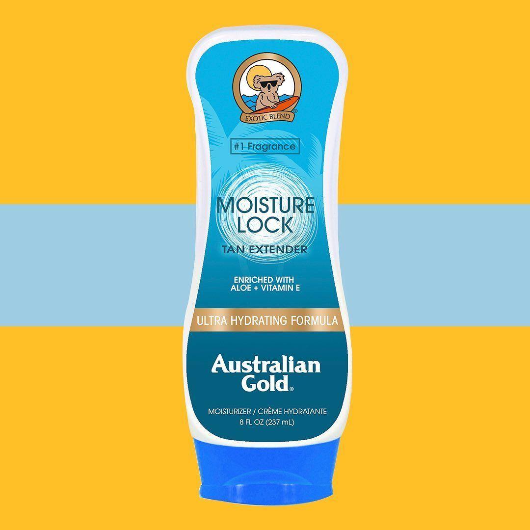 After Sun Moisture Lock Tan Extender Australian Gold Hidratar La Piel Bronceado Hidratacion