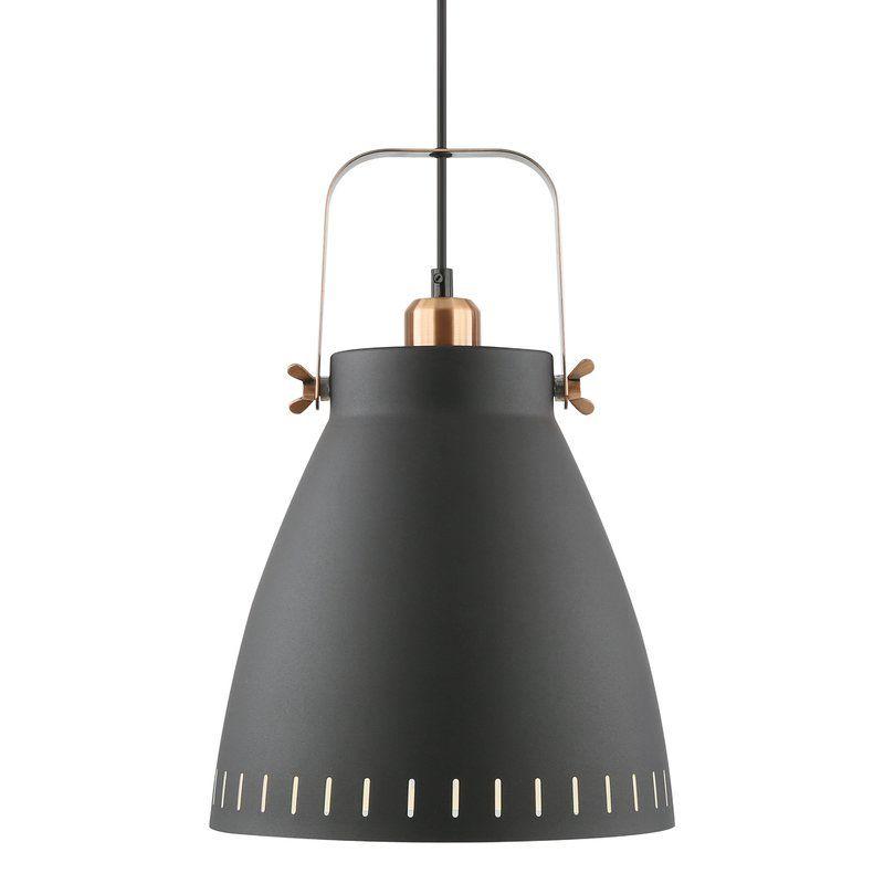 Lehner 1 Light Single Bell Pendant Pendant Light Shabby Chic Furniture Lighting Design Interior