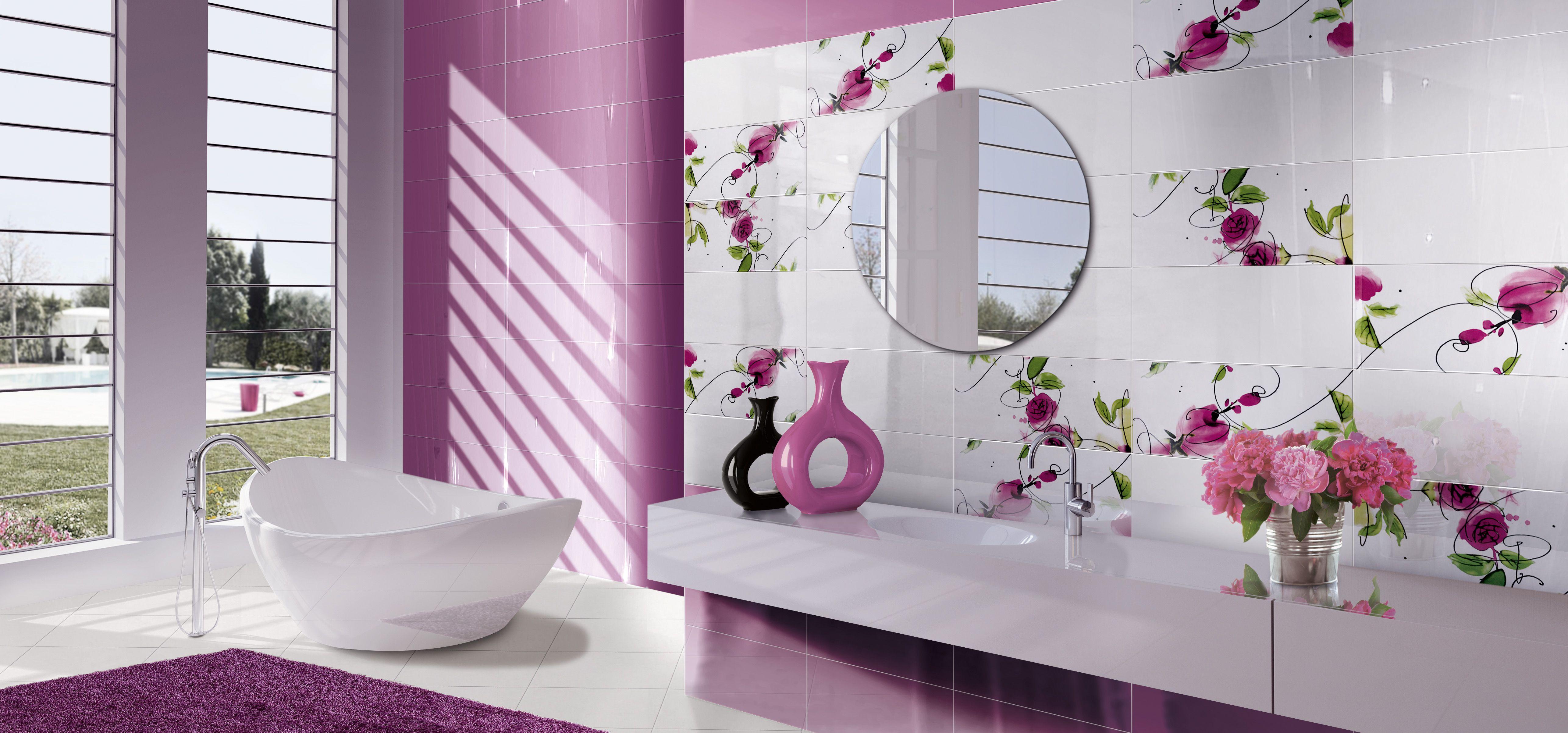 Presuntuosa Ceramiche Brennero Spa Pink Room Room Interior Decor