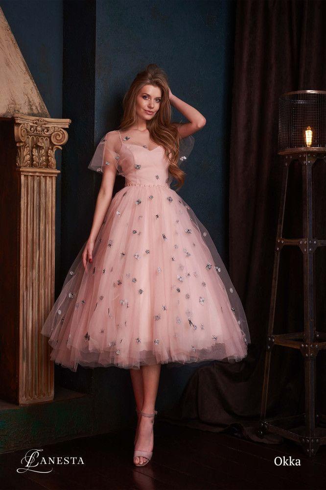 12 красивых вечерних платьев на выпускной Lanesta 2019