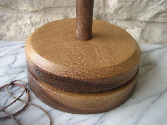 Knit Spinner Black Walnut by Craftiness on Etsy