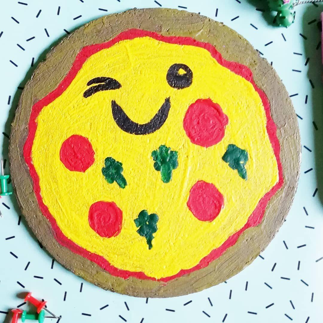 Pinnwand Pizza Kawaii Leicht Zum Selbermachen Einfach Eine