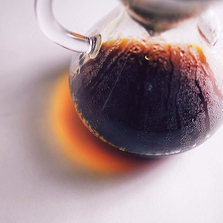 Today is off to a great start with @the_chemex