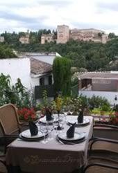 Restaurante En El Albaicyn Con Vistas A La Alhambra