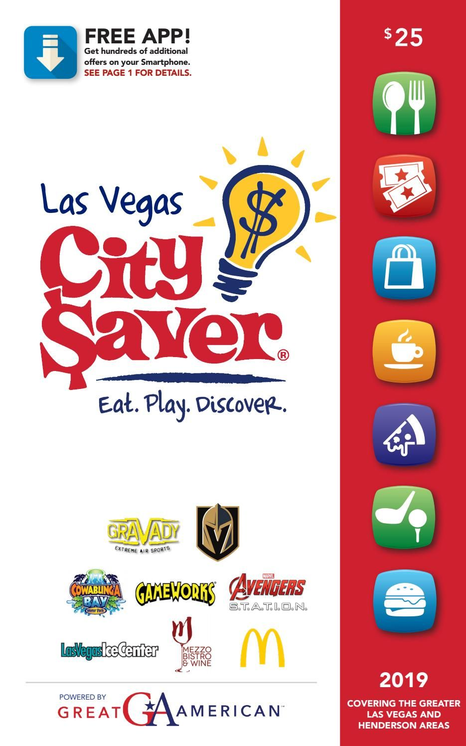 2019 Las Vegas, NV City Saver Coupon Book | Products in 2019
