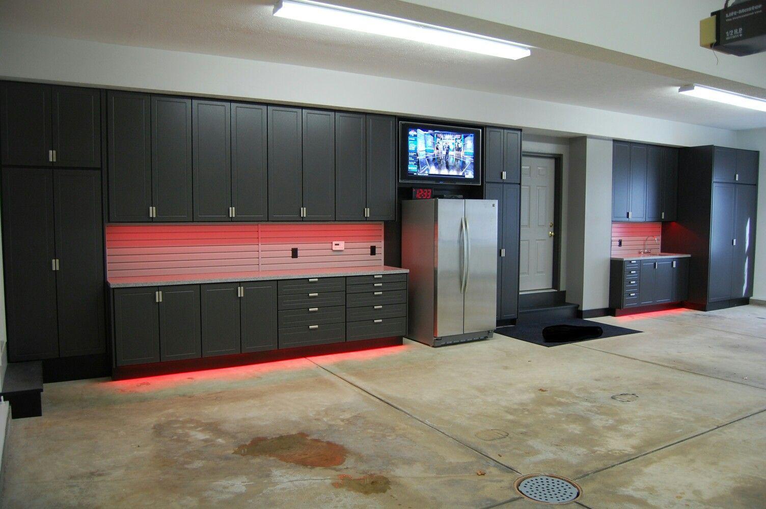 Garage Ideas From Google Garage Interior Garage Floor Paint Garage Lighting