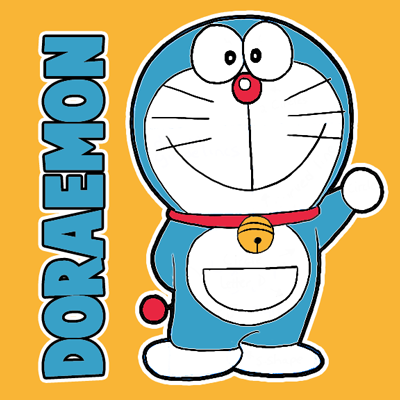 How to Draw Doraemon with Easy Steps Drawing Lesson