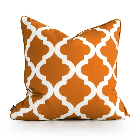 orange outdoor pillow cover moroccan
