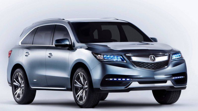 The 2017 Acura MDX is the third generation of MDX which is a