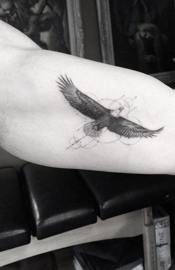 Minimalist Eagle Tattoo : minimalist, eagle, tattoo, Tattoo, Ideas, Tattoos,, Small, Tattoos
