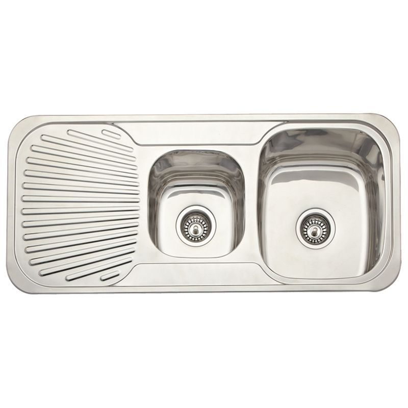 Estilo 1080 x 480 x 180mm right hand double bowl stainless steel estilo 1080 x 480 x right hand double bowl stainless steel sink workwithnaturefo