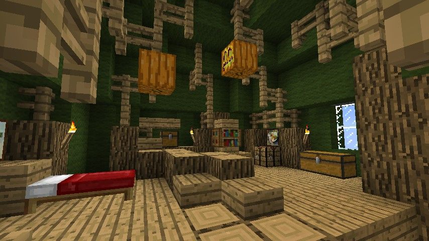 inside minecraft tree houses google search other minecraft - Treehouse Masters Tree Houses Inside