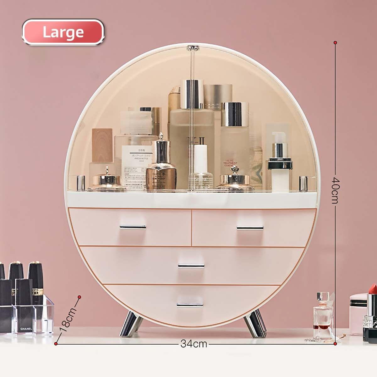Fashion Drawer Makeup Storage Box Bathroom Brush Lipstick Ho…