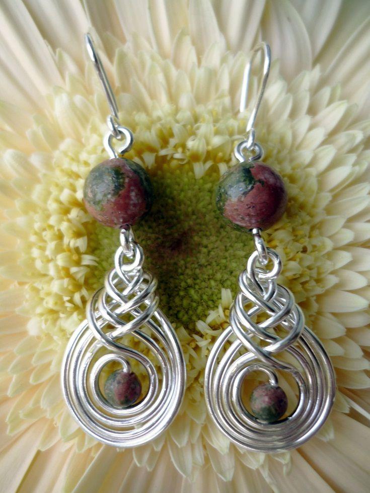 wire wrapped earrings | making earrings | Pinterest | Wire tutorials ...