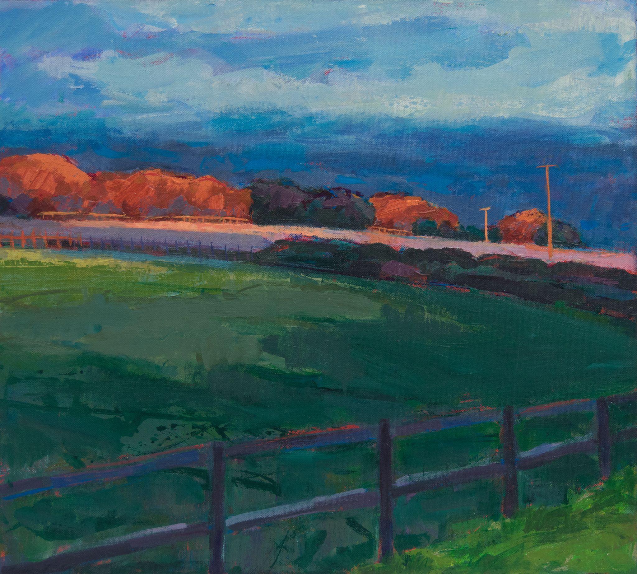 Evening Sun Landscape Landscape Art Landscape Paintings