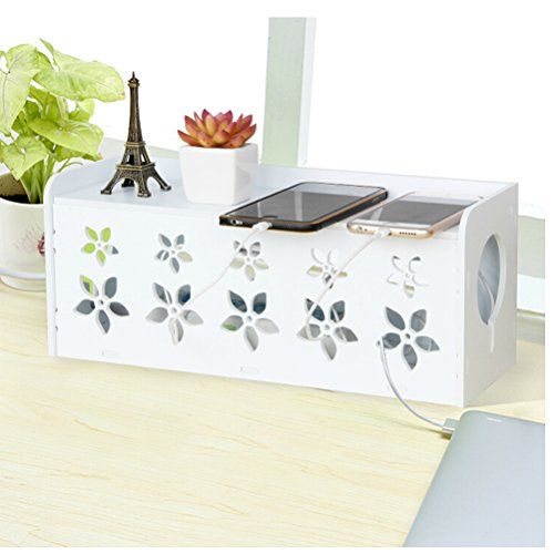 DIY Kabelbox Zur Kabelaufbewahrung Und  Verwaltung Lagerungsbox Mit Dem  Deckel Schutzbox Der Heimsteckdose