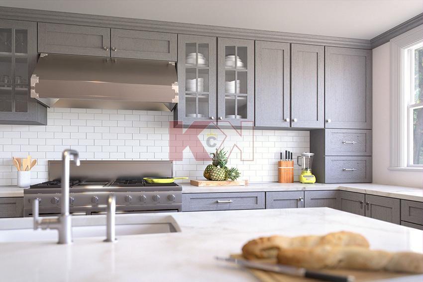 Best Nova Light Gray Cabinets By Kitchen Cabinet Kings 400 x 300