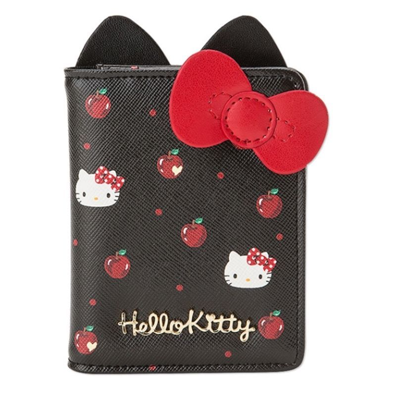 06e340aa1 Sanrio Hello Kitty Leather Transportation ID Credit Card Case Holder Wallet