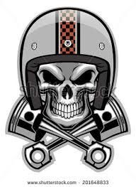 Resultado De Imagen Para Nombres De Grupos De Motos Tuning Biker Art Bike Art Skull Art