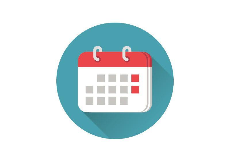 Flat Calendar Icon | Calendar icon, Calendar logo, Calendar design