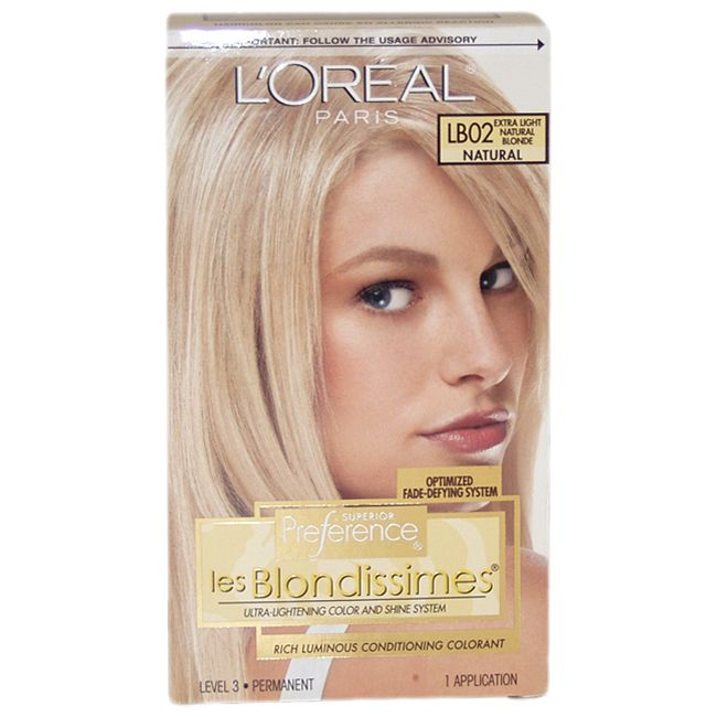 Loreal Superior Preference Les Blondissimes Extra Light Hair