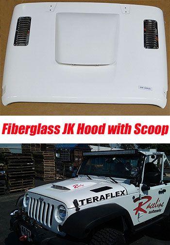 Fiberglass JK Hood