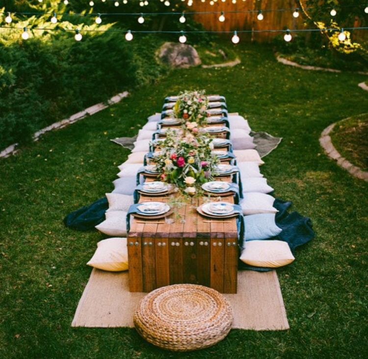 Outdoor Dinner Parties, Outdoor Parties