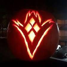 destiny 2 pumpkin template  Image result for destiny pumpkin carving | Pumpkin carving ...