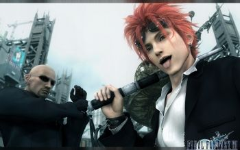 Final Fantasy Wallpapers And Backgrounds Reno Final Fantasy