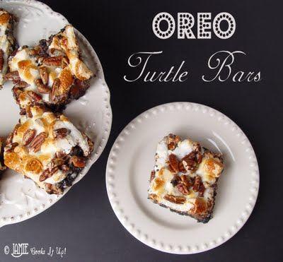 Jamie Cooks It Up!: Oreo Turtle Bars