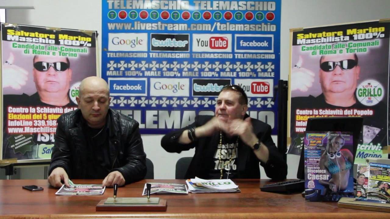 salvatore conferenza stampa LISTA DEL GRILLO NO EURO AMMINISTRATIVE 2016...