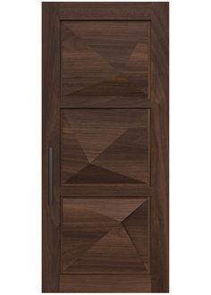WASATCH A custom door design with three dimensional select g…